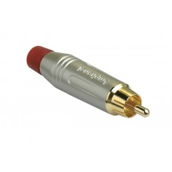 Amphenol Gold RCA Red