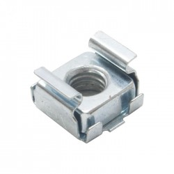 50 pack M6 Cage nuts S1170